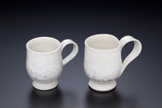 雪の花 コーヒーカップ