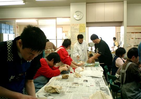 元気や陶芸教室の様子1