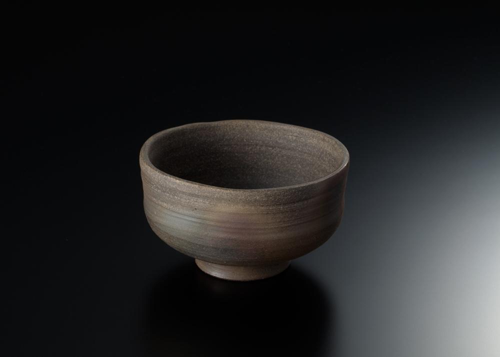 焼き〆抹茶碗1